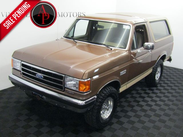 1990 Ford Bronco XLT AC 4X4 REMOVABLE TOP