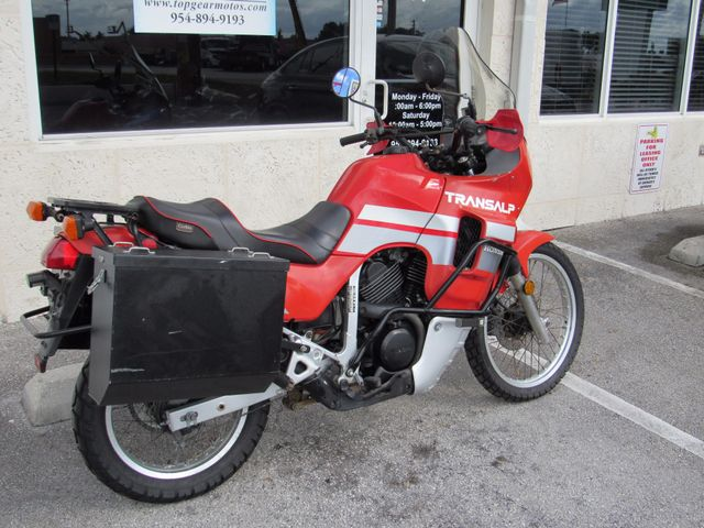 1990 Honda XL600V Transalp in Dania Beach Florida, 33004