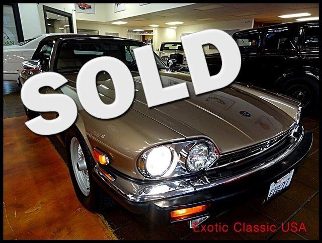 1990 Jaguar XJS V12 La Jolla, California 0