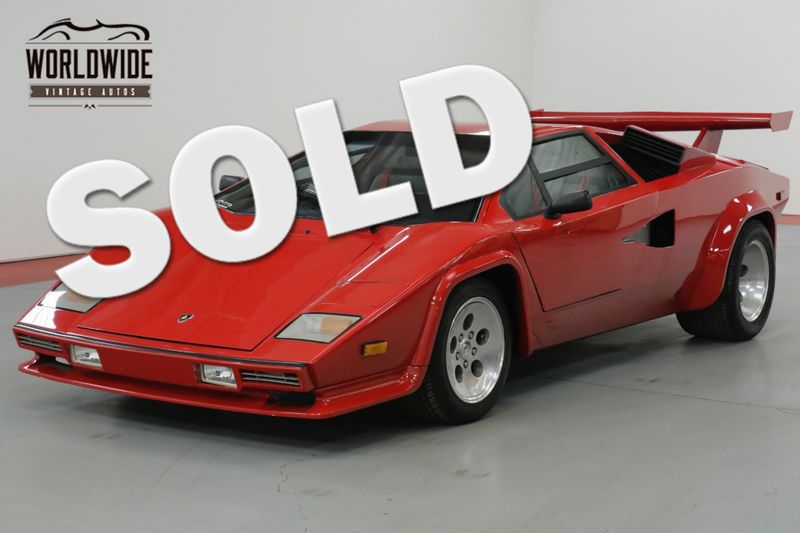 1990 Lamborghini COUNTACH $65K+ BUILD CORVETTE 5.7L 5 SPEED AC! PB!  EXOTIC | Denver, CO | Worldwide Vintage Autos