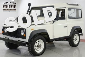 1990 Land Rover DEFENDER SANTANA DIESEL 5 SPEED LHD DRY 4x4 LOW MILES  | Denver, CO | Worldwide Vintage Autos in Denver CO