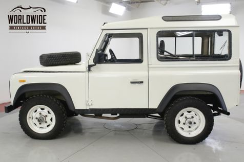1990 Land Rover DEFENDER SANTANA DIESEL 5 SPEED LHD DRY 4x4 LOW MILES  | Denver, CO | Worldwide Vintage Autos in Denver, CO