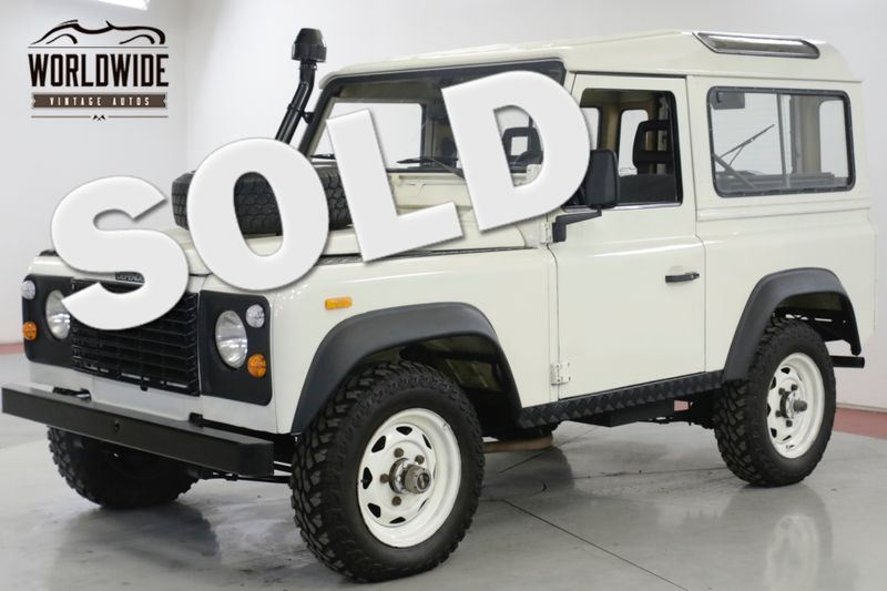 1990 Land Rover DEFENDER SANTANA DIESEL 5 SPEED LHD DRY 4x4 LOW MILES  | Denver, CO | Worldwide Vintage Autos