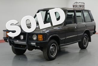 1990 Land Rover RANGE ROVER in Denver CO
