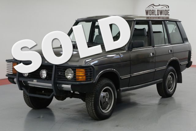 1990 Land Rover RANGE ROVER in Denver CO