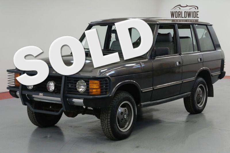 1990 Land Rover RANGE ROVER COUNTRY. 92K ORIGINAL MILES! COLLECTOR 4x4   Denver, CO   Worldwide Vintage Autos