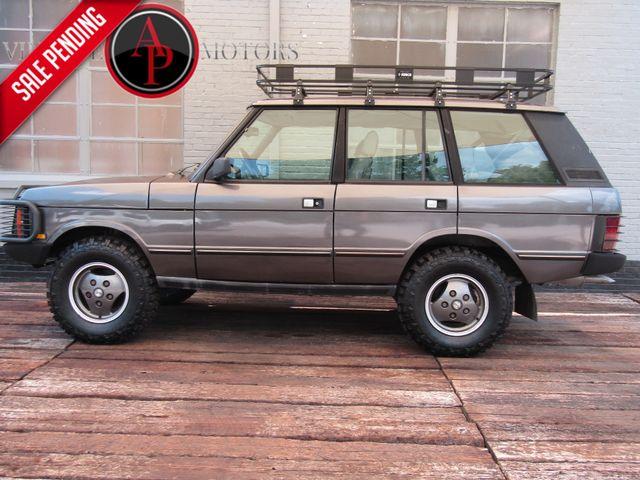 1990 Land Rover Range Rover 92k STOCK RRC
