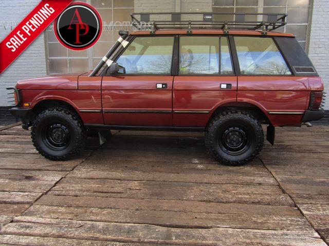 1990 Land Rover Range Rover COUNTY V8 LIFTED