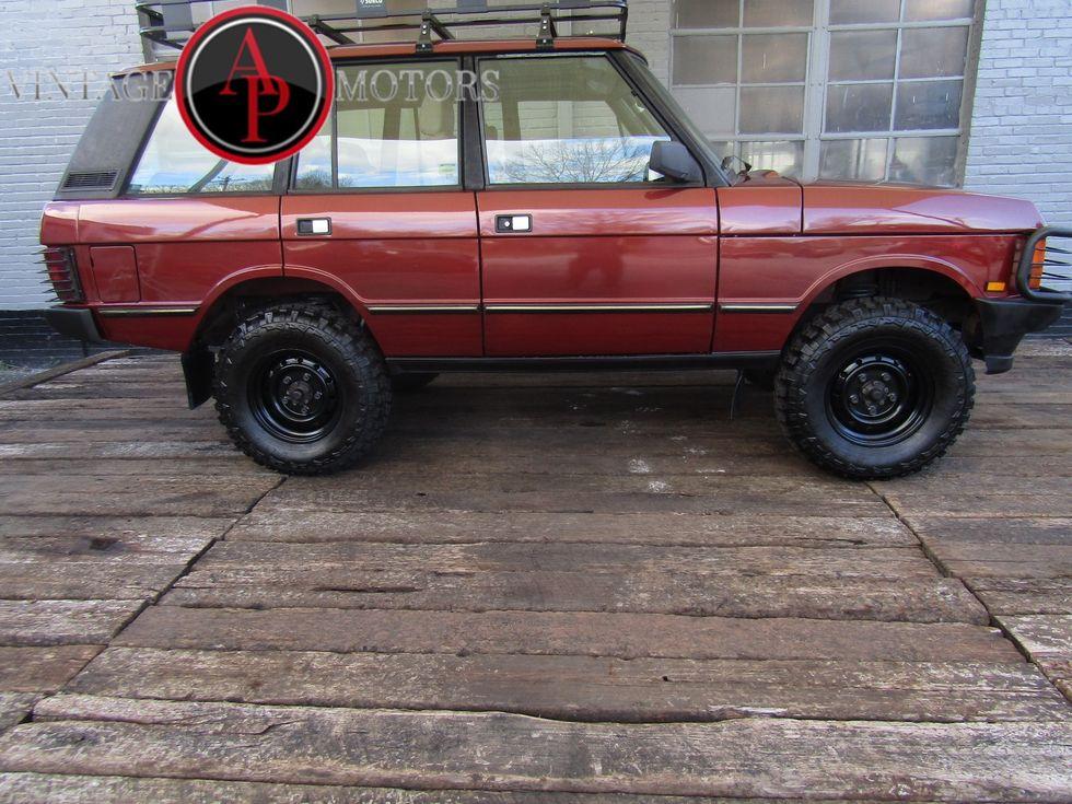 Range Rover Lifted >> 1990 Land Rover Range Rover