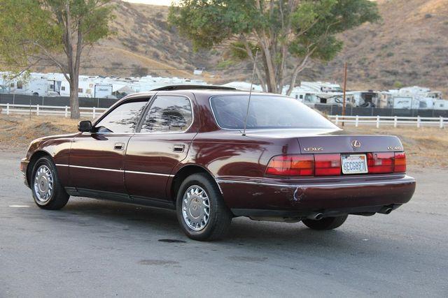 1990 Lexus LS 400 Santa Clarita, CA 5