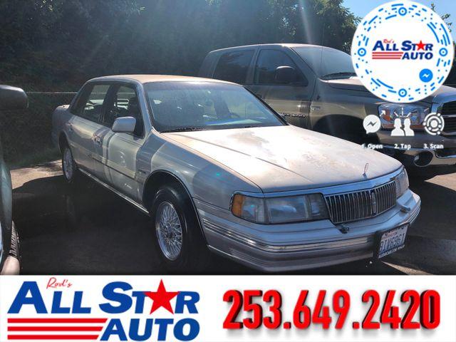 1990 Lincoln Continental Signature