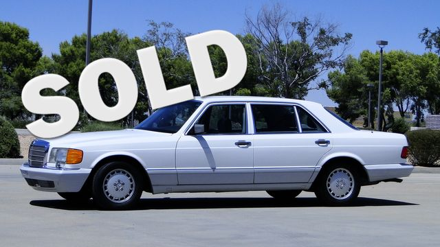 1990 Mercedes-Benz S-CLASS SEDAN 420SEL Phoenix, Arizona 0