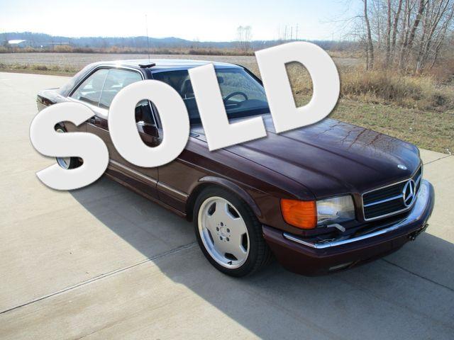 1990 Mercedes-Benz 560 Series 560SEC in Chesterfield, Missouri 63005