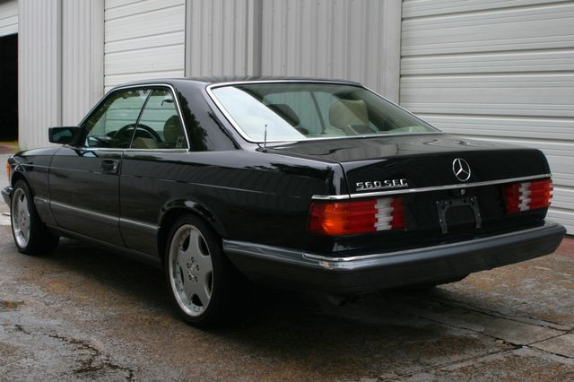 1990 Mercedes-Benz 560 Series 560SEC Houston, Texas 4
