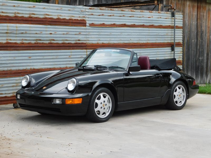 1990 Porsche 911 Carrera C4 Cabriolet  city TX  Dallas Motorsports  in Wylie, TX
