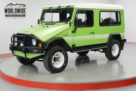 1990 Umm ALTER II TURBO DIESEL! LIKE LAND CRUISER DEFENDER  | Denver, CO | Worldwide Vintage Autos in Denver, CO