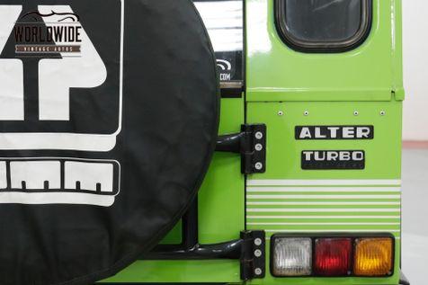 1990 Umm ALTER II TURBO DIESEL! LIKE LAND CRUISER DEFENDER  | Denver, CO | Worldwide Vintage Autos in Denver, CO