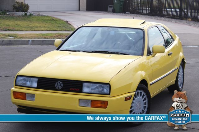 1990 Volkswagen CORRADO COUPE MANUAL 77K ORIGINAL MLS 1-OWNER