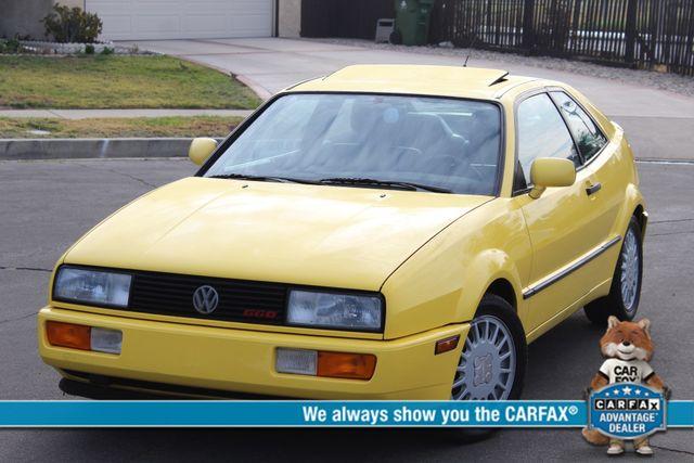 1990 Volkswagen CORRADO COUPE MANUAL 77K ORIGINAL MLS 1-OWNER