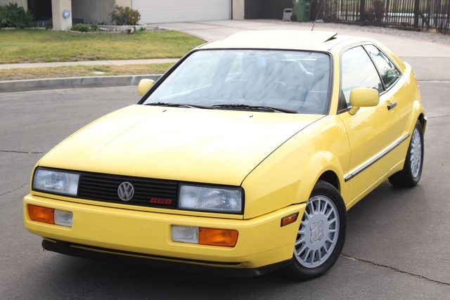 1990 Volkswagen CORRADO COUPE MANUAL 77K ORIGINAL MLS 1-OWNER in Woodland Hills CA, 91367