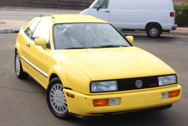 1990 Volkswagen CORRADO COUPE MANUAL 77K ORIGINAL MLS 1-OWNER in Van Nuys, CA 91406