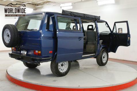 1990 Volkswagen VANAGON PRE RUNNER WEEKENDER VANAGON BUS RARE   Denver, CO   Worldwide Vintage Autos in Denver, CO