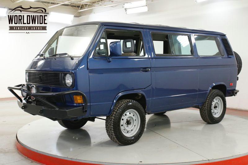 1990 Volkswagen VANAGON PRE RUNNER WEEKENDER VANAGON BUS RARE   Denver, CO   Worldwide Vintage Autos