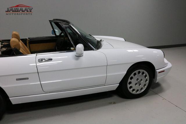 1991 Alfa Romeo Spider Veloce Merrillville, Indiana 36