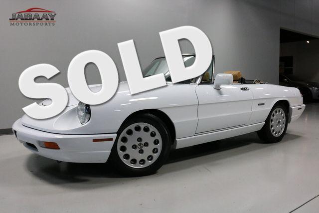 1991 Alfa Romeo Spider Veloce Merrillville, Indiana 0