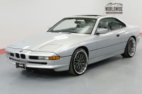 1991 BMW 8 SERIES 850i 5.0 LTR V12 4 SPEED AUTO | Denver, CO | Worldwide Vintage Autos in Denver, CO