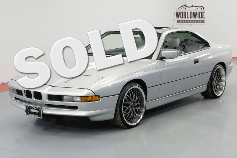 1991 BMW 8 SERIES 850i 5.0 LTR V12 4 SPEED AUTO | Denver, CO | Worldwide Vintage Autos