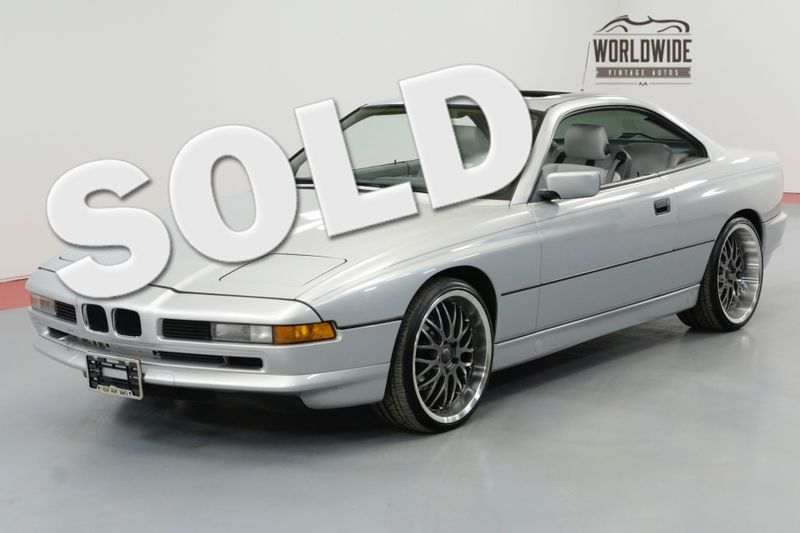 1991 BMW 8 SERIES 850i 5.0 LTR V12 4 SPEED AUTO | Denver, CO | Worldwide Vintage Autos