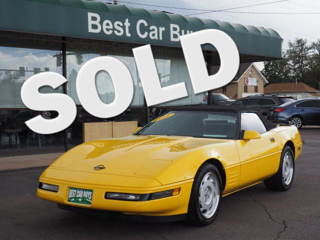 1991 Chevrolet Corvette Base | Englewood, CO | Best Car