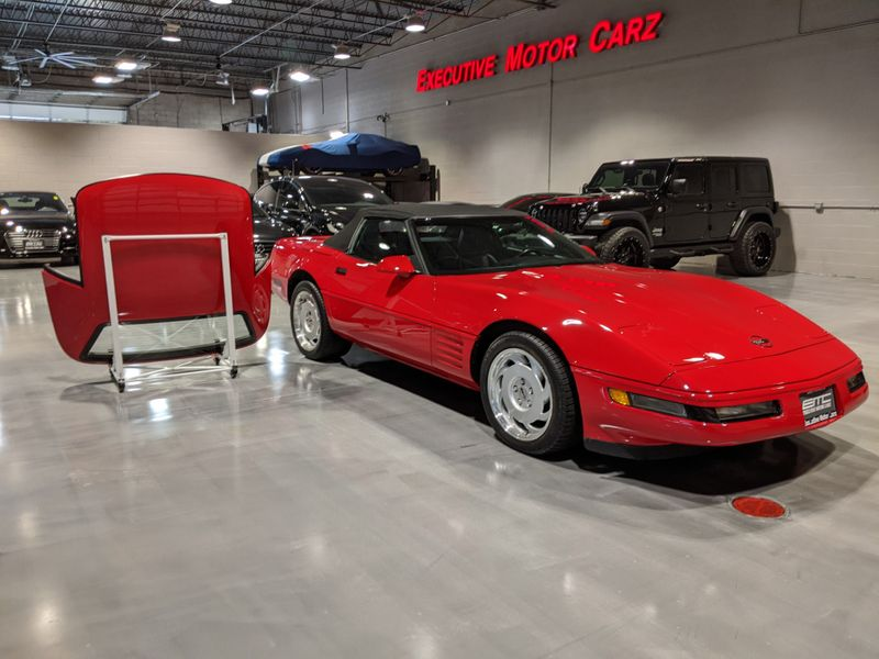 1991 Chevrolet Corvette   Lake Forest IL  Executive Motor Carz  in Lake Forest, IL