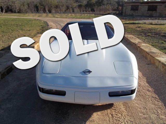 1991 Chevrolet Corvette ZR1 / LT5 Liberty Hill, Texas