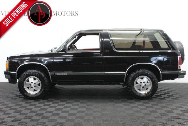 1991 Chevrolet S-10 Blazer 99K 4X4 TIME CAPSULE