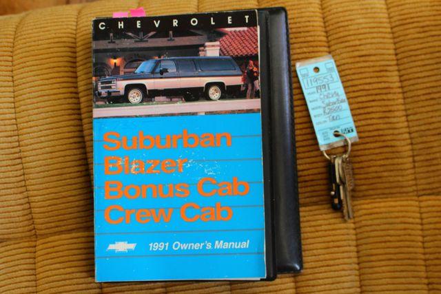 1991 Chevrolet Suburban 2500 RWD Silverado - ONLY 80K MILES! Mooresville , NC 17