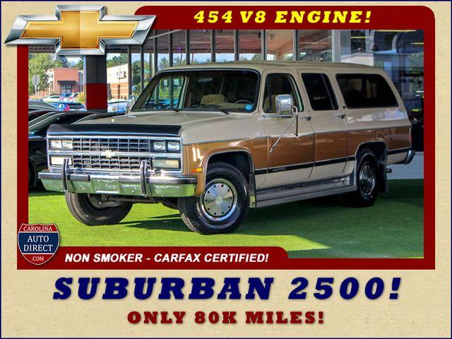1991 Chevrolet Suburban 2500 RWD Silverado - ONLY 80K MILES! Mooresville , NC 0