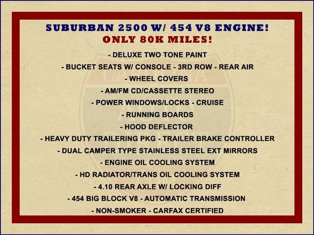 1991 Chevrolet Suburban 2500 RWD Silverado - ONLY 80K MILES! Mooresville , NC 1