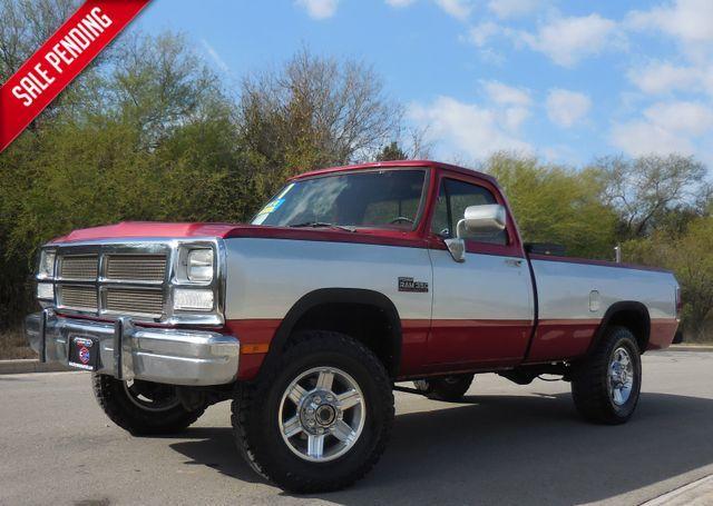 1991 Dodge D350 & W350 W300 in New Braunfels, TX 78130
