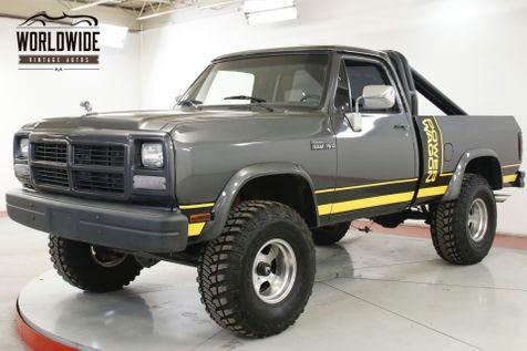 1991 Dodge POWER RAM  RESTORED POWER WAGON AC! LIFT 35