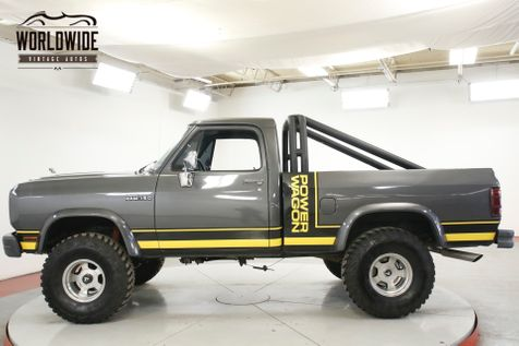 1991 Dodge POWER RAM  RESTORED POWER WAGON AC! LIFT 35