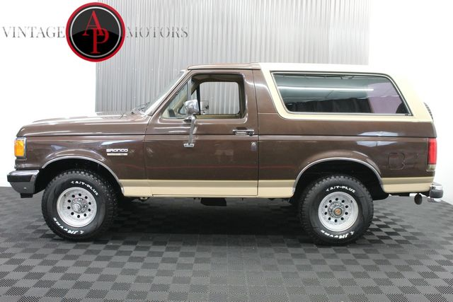 1991 Ford Bronco 4x4 REMOVEABLE HARDTOP EDDIE BAUER EDITION
