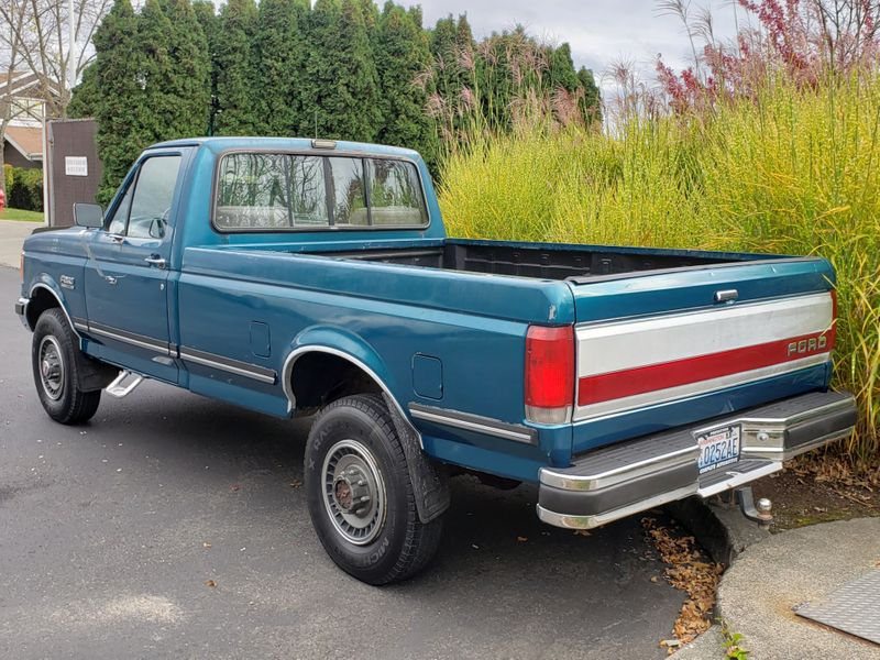1991 Ford F-250 XLT Lariat 4x4 75L V8 56000 Original Mile Local 2 Owner History  city Washington  Complete Automotive  in Seattle, Washington
