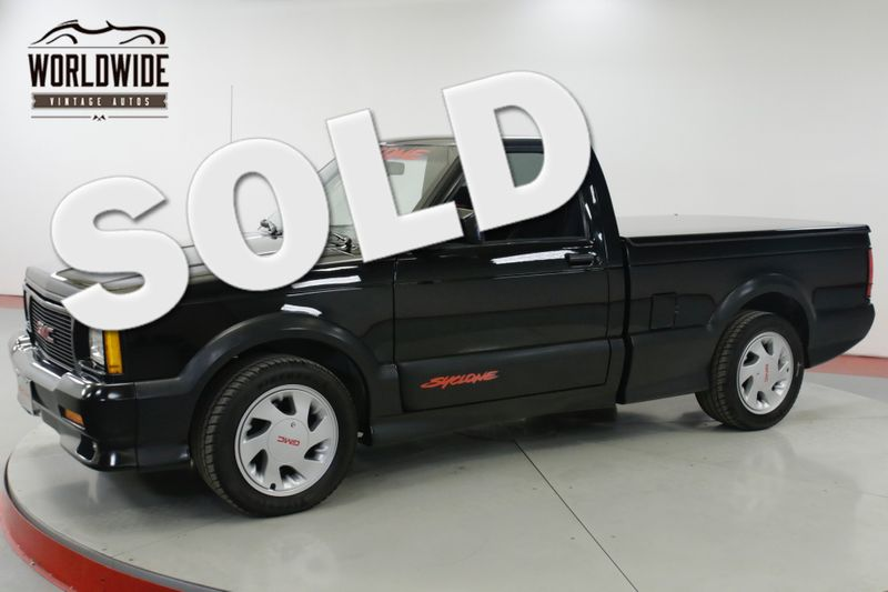 1991 GMC SYCLONE 23K ORIGINAL MILES. STOCK. COLLECTOR GRADE  | Denver, CO | Worldwide Vintage Autos