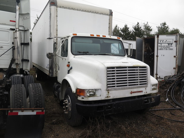 1991 International 4700 Box Truck