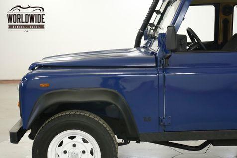 1991 Land Rover DEFENDER  SANTANA TURBO DIESEL 5 SPEED LHD DRY 4x4 LOW | Denver, CO | Worldwide Vintage Autos in Denver, CO