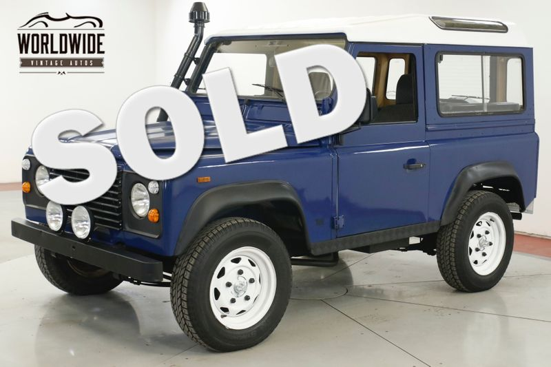 1991 Land Rover DEFENDER  SANTANA TURBO DIESEL 5 SPEED LHD DRY 4x4 LOW | Denver, CO | Worldwide Vintage Autos