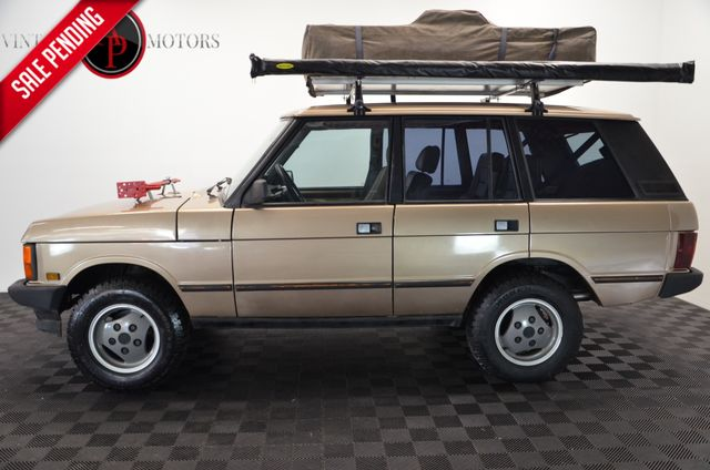 1991 Land Rover Range Rover CLASSIC OVERLAND READY