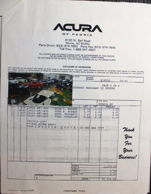 1992 Acura NSX Sport La Jolla, Califorina  67